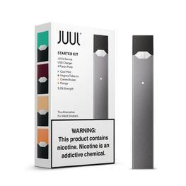 JUUL Starter Kit with 4 Pods (Authentic - Verified by JUUL)