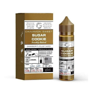 Sugar Cookie  - GLASS VAPOR E-Liquid (60ml)