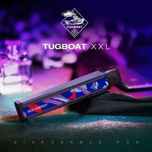 TUGBOAT XXL DISPOSABLE PODS 2500 PUFFS (Red Energy)