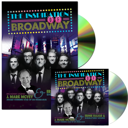 The Inspiration Of Broadway CD and DVD combo