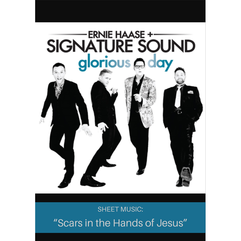 Scars in the Hands of Jesus - Sheet Music