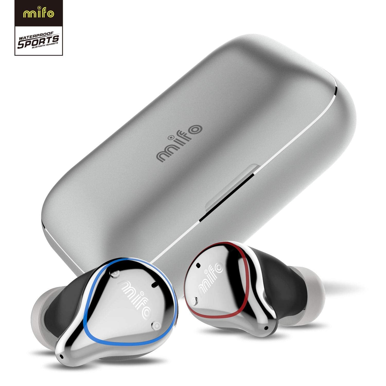 Image result for mifo wireless earbuds