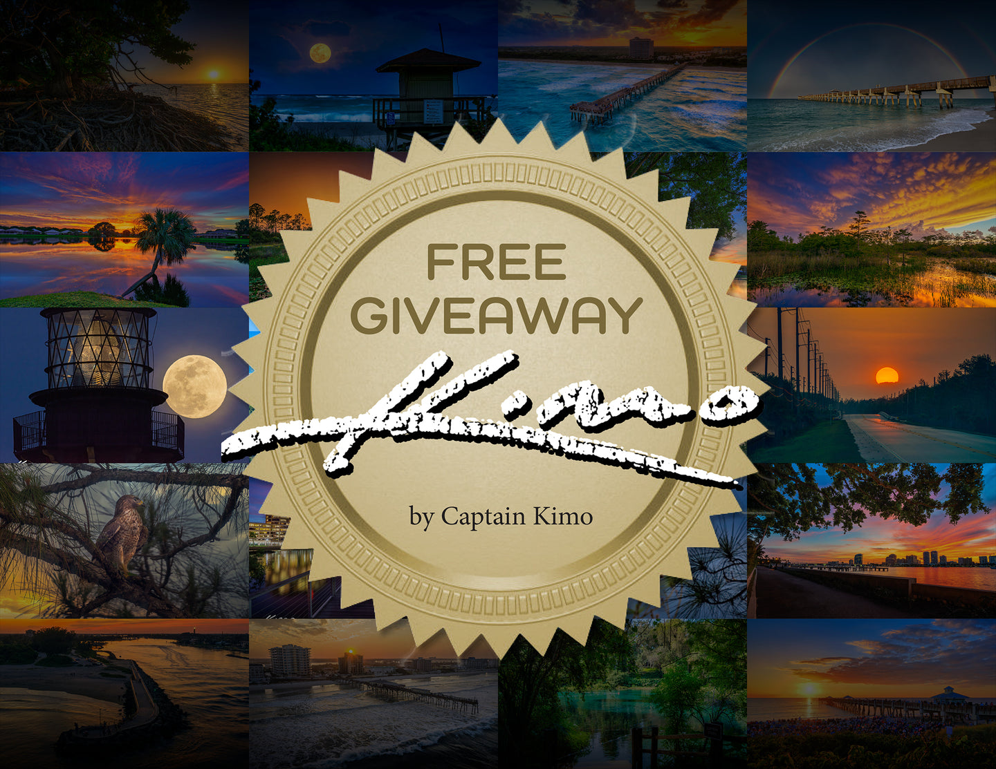 Captain Kimo's Free Product Giveaway
