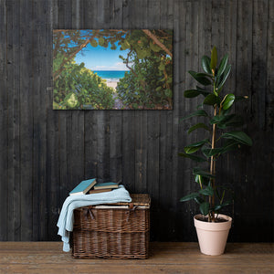 Secret Beach - Canvas
