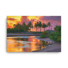 Load image into Gallery viewer, Dubois Lagoon Sunset Art - Canvas