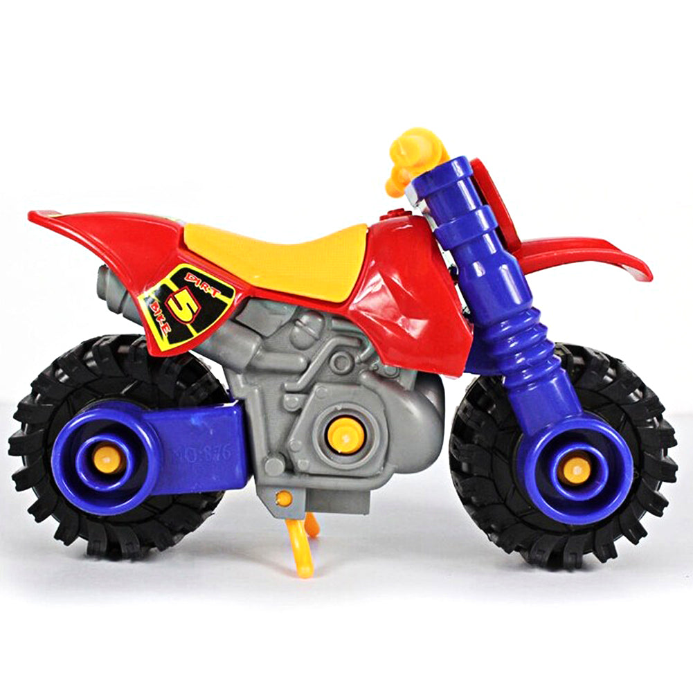 Plastic Disassembly/Assembly Kids Educational Motorcycle