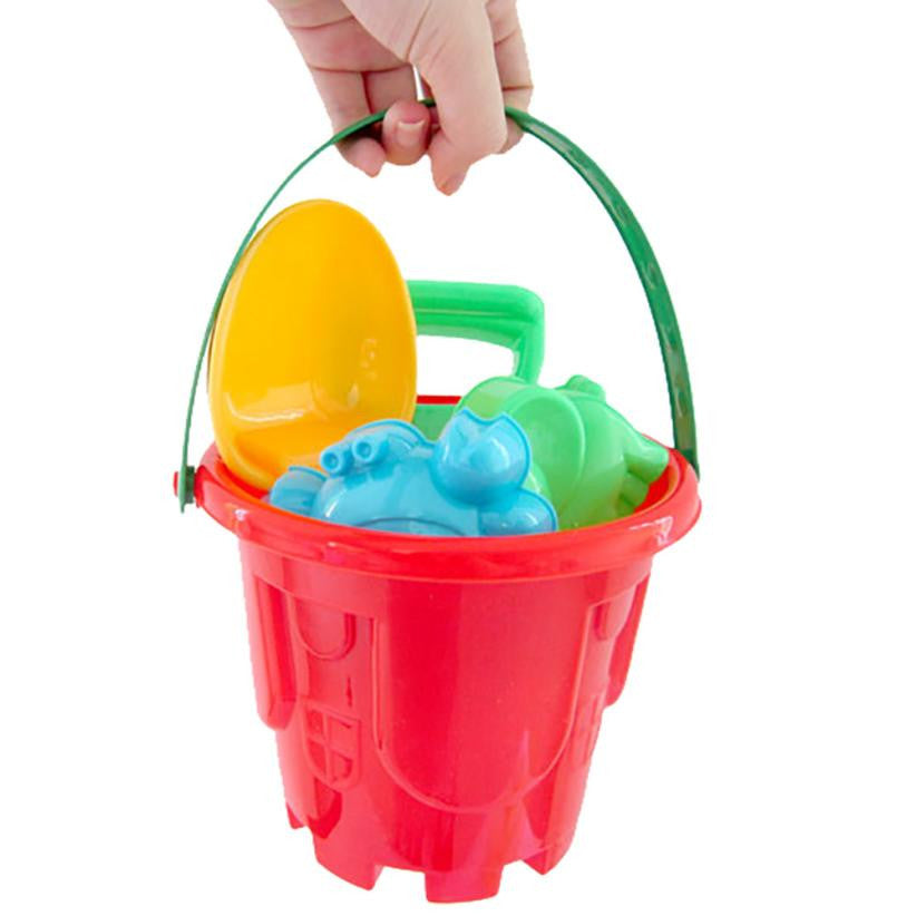 Beach Toys Castle Bucket, Spade, Rake, Water Tools, High-grade beach barrels