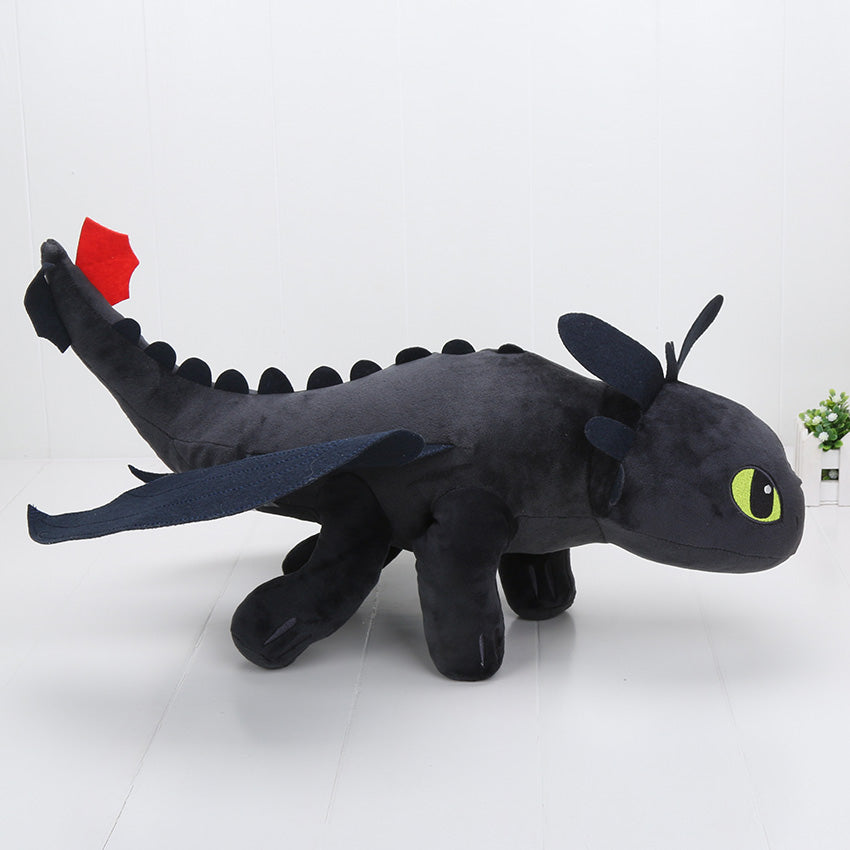 How To Train Your Dragon Toothless Plush Toy Black