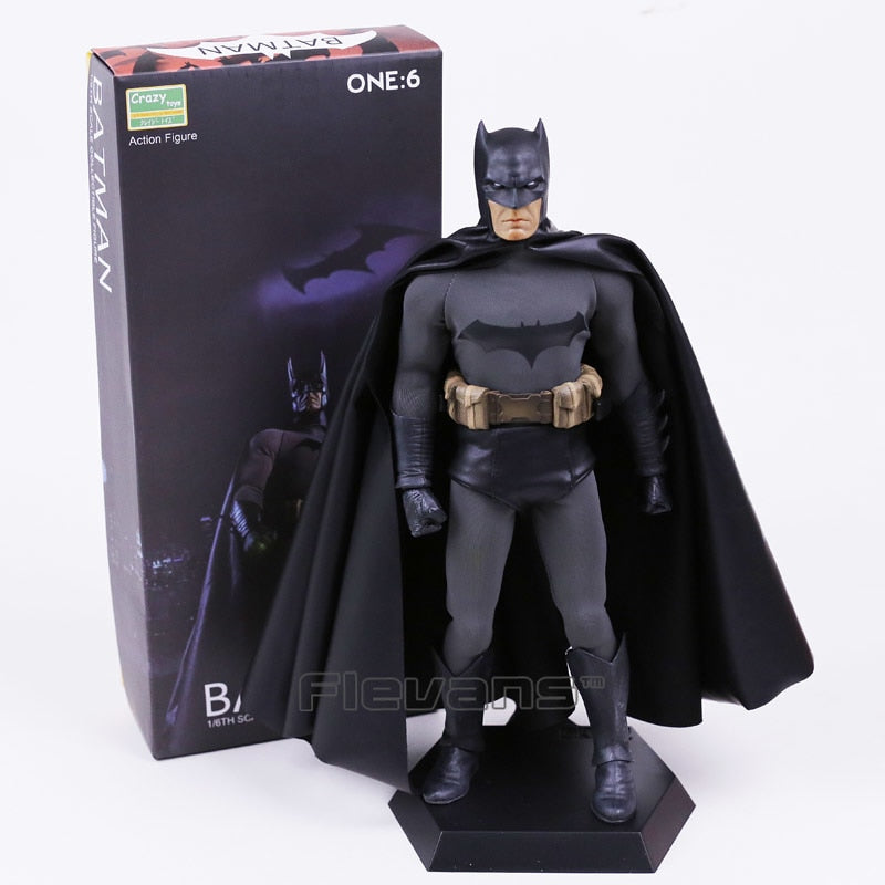 Batman 1/6th Scale Collectible Action Figure Real Clothes 30cm
