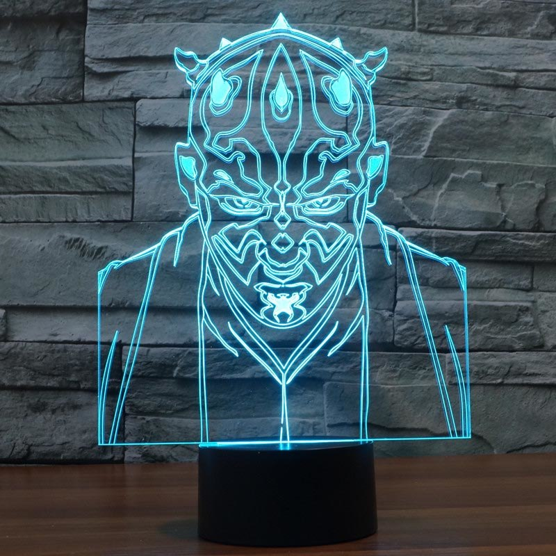 villain jedi knight LED light