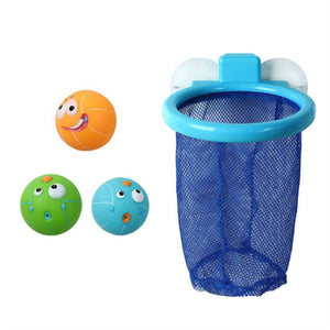 Bath Tossing Game with Suction Cup Net and 3 Balls