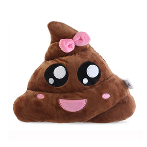 Poo Shape Plush Cushion