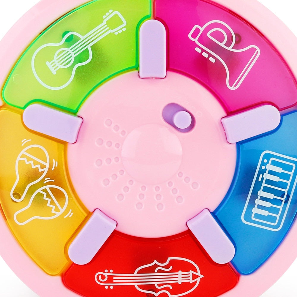 Multi-Function Kids Electronic Organ Cartoon Piano Educational Musical Instrument