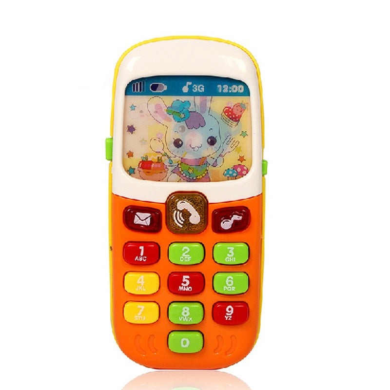 Electronic Mobile Phone With Music