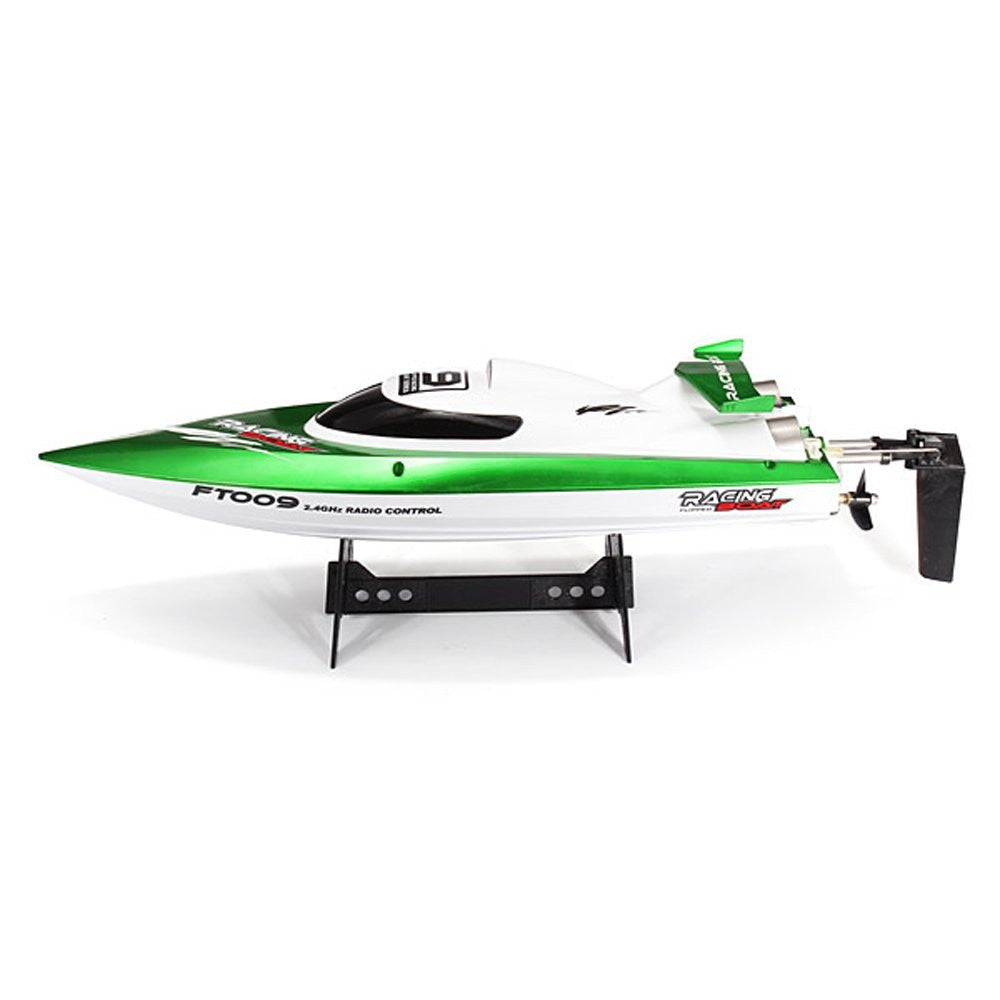 FT009 2.4G 4CH Remote Control High Speed RC Racing Boat with Water Cooling System