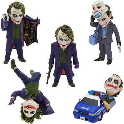 The Dark Knight Joker Action Figure Collectibles 5PC/ set