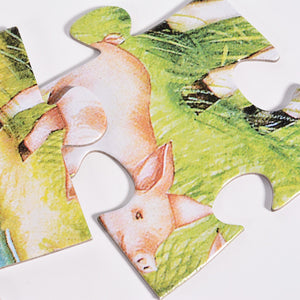 Country Farm Floor Puzzles Super Puzzle Set (Set of 2 Puzzles)