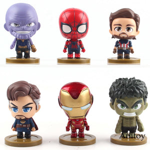 Avengers Thanos, Iron Man, Spiderman, Captain America, Doctor Strange, Hulk  Collectibles