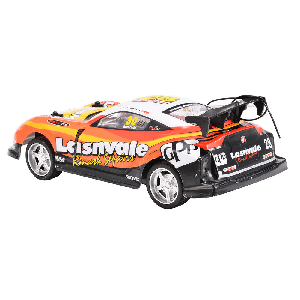 1:18 Scale 27Mhz 5 Function R/C Radio Control Sports Car Orange