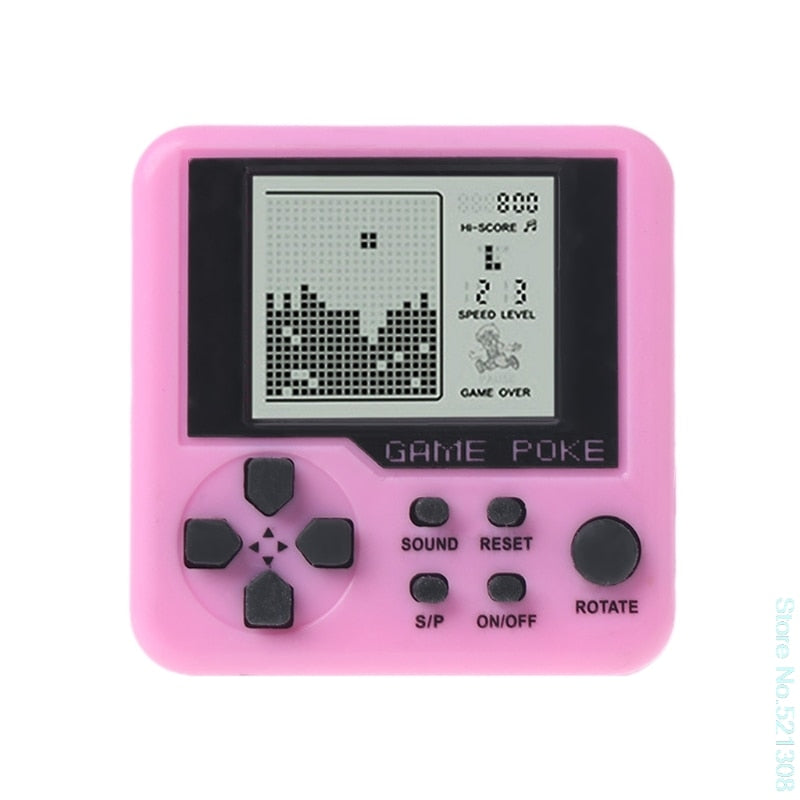 Hand Held Mini Tetris Game Machine