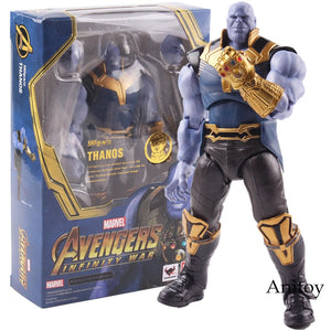 Avengers Infinity War Thanos Action Figure Marvel Collectible