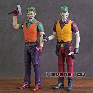 DC Comics Batman Arkham Asylum The Joker Action Figure Collectible