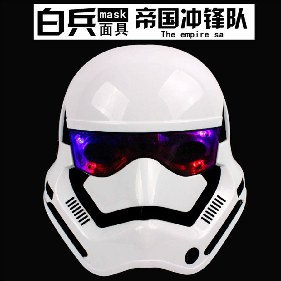 LED Soldier Helmet mask
