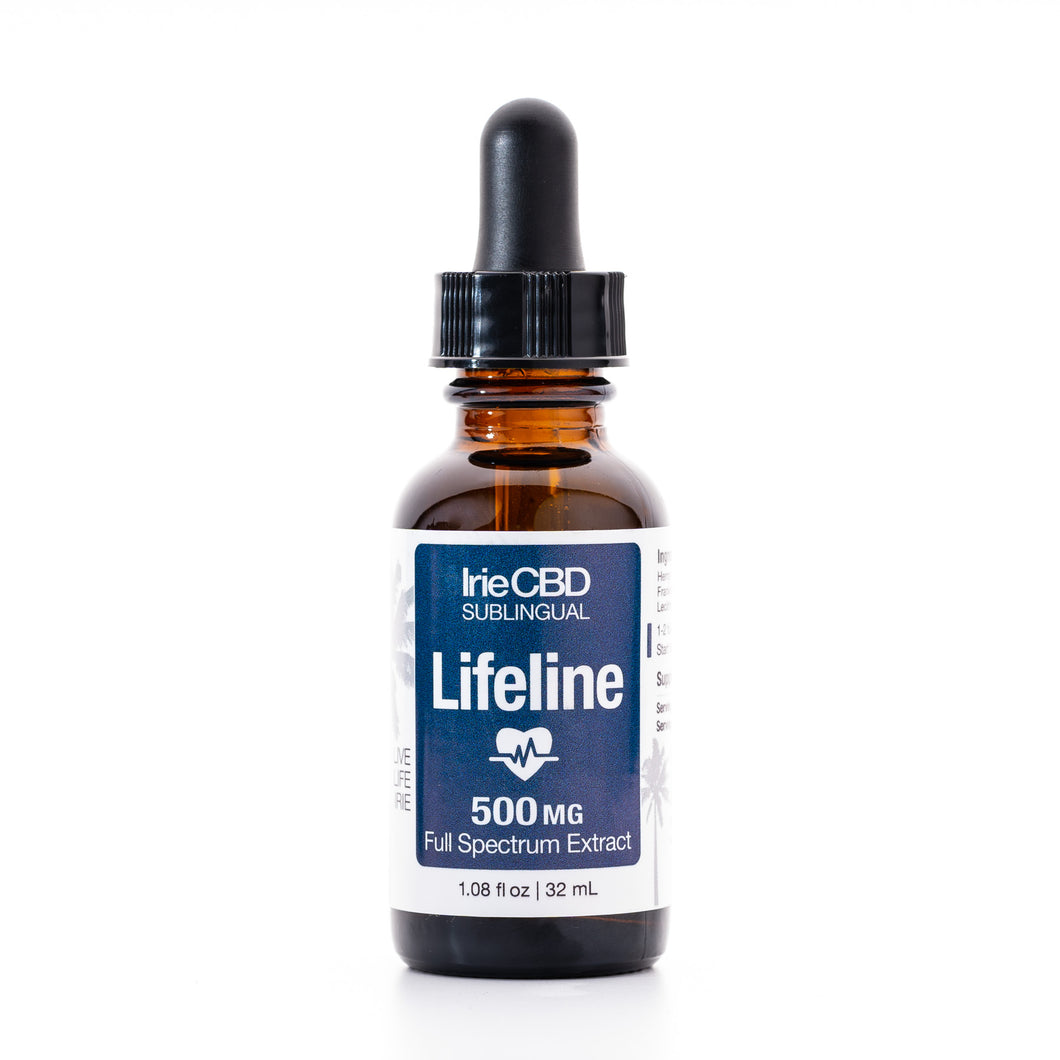 Lifeline 500mg CBD Oil Tincture