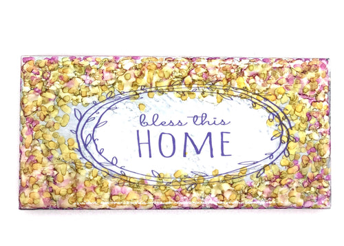 Beautiful ' Bless this House' Coaster/Tiles - All The Small Things