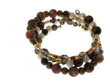 Load image into Gallery viewer, Tiger's Eye and Freshwater Pearl Bracelet - All The Small Things
