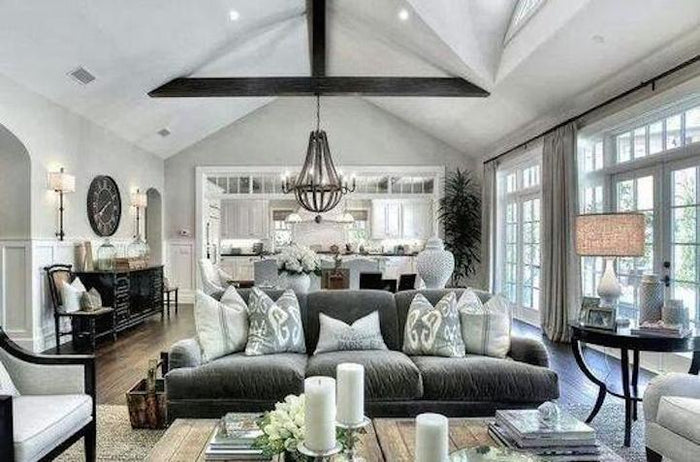Hamptons Inspiration in these 8 Beautiful Living Rooms