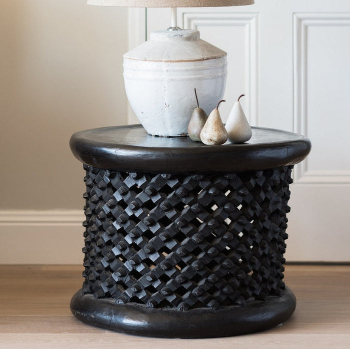 Stunningly crafted Bamileke Tables and 4 Ways to Use them in Your Home