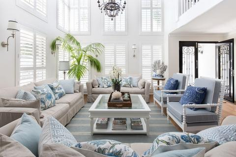21 Insanely Gorgeous Hamptons Style Living Rooms To