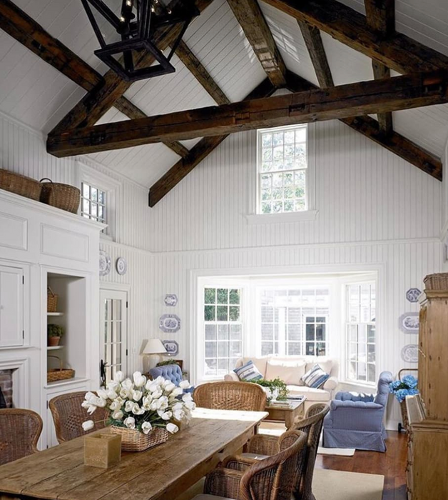 Cathedral Ceilings Reach New Heights in Hamptons Design