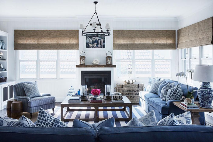 The Most Divine Hamptons Inspired Rooms with Dash & Albert Rugs