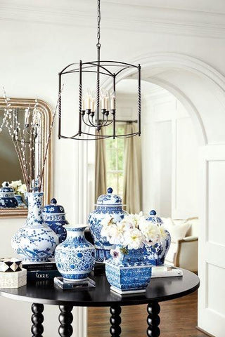 Tips Inspiration On Styling And Blue White Ginger Jars And Vases