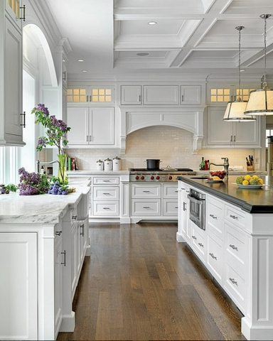 22 Stunning Hamptons Style Kitchens You Will Love