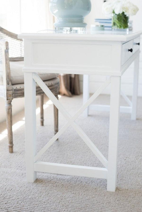 White Hamptons Desk