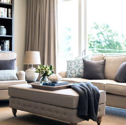 Hamptons Living Room Package - Natural