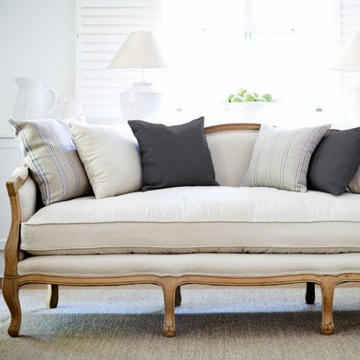 French Provincial Sofa - 3 Seater