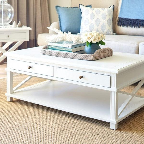 White Hamptons Coffee Table