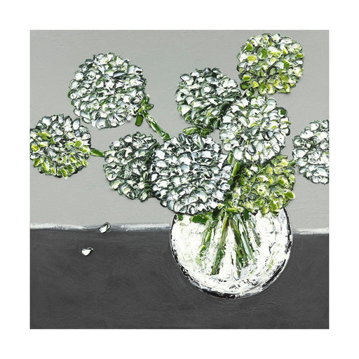 "Print -  ""Hydrangea Whites"" - 3 Sizes"
