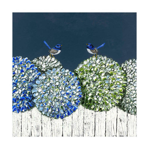 "Print -  ""Love Birds"" - 3 Sizes"