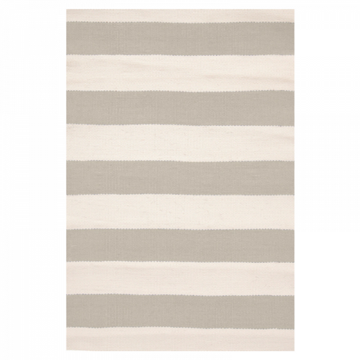 Indoor/Outdoor Rug - Catamaran Stripe Platinum & Ivory