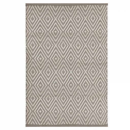 Indoor/Outdoor Rug - Diamond Fieldstone and Ivory