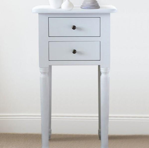 White Bedside Table - Small - Overstock
