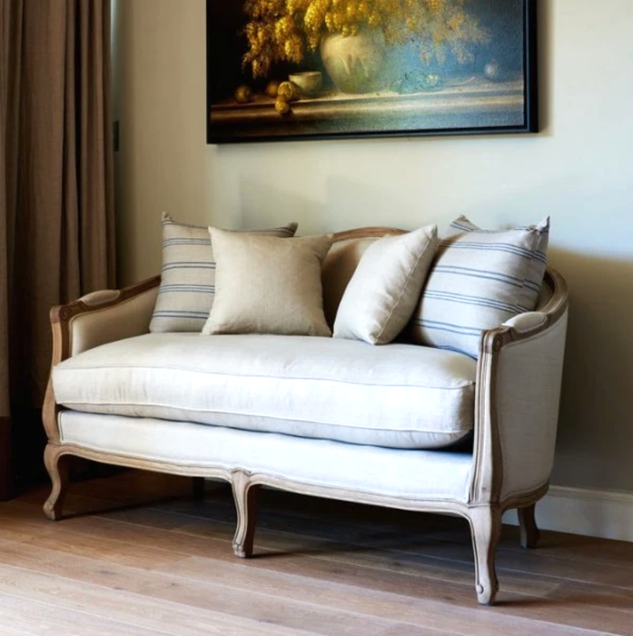 French Provincial Sofa - 2 Sizes