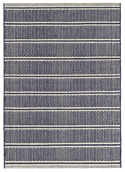 Cotton Rug - Archer Navy