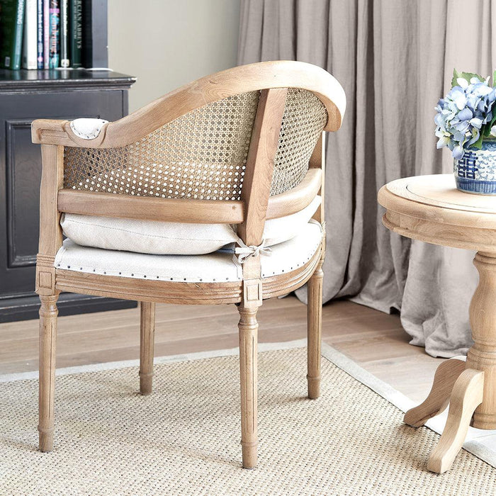 Small Rattan Armchair