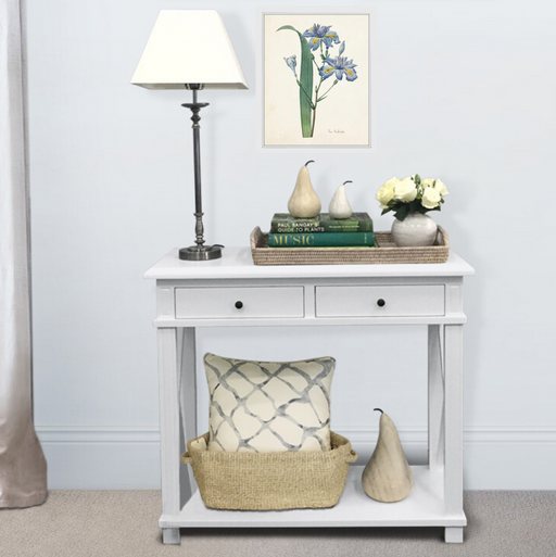 Hamptons Console Table 2 Drawer Package